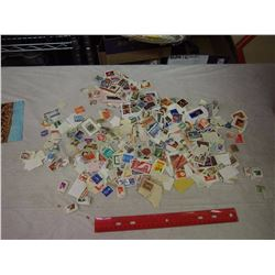 Large Lot Of Vintage And International Stamps