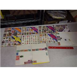 Lot Of Vintage Stamps, Many Sealed