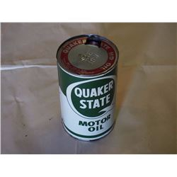 Quaker State Motor Oil Tin (1 Quart)(Empty)