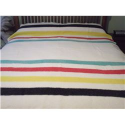 Hudson Bay 4Point Blanket (Full Size)(Label Made in England)