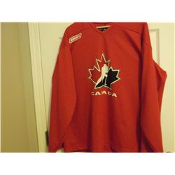 Team Canada Jersey (By Bauer)(Size L)