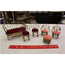 Tin Can Toy Furniture (6 Pieces)