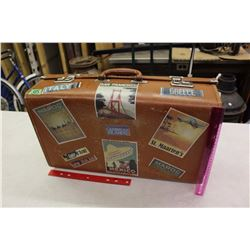 Word Travel Decal Suitcase (England)