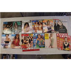 Lot of Assorted XXX Magazines (13)