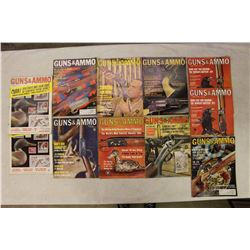 Guns&Ammo Magazines (11)(1963(2),1964(7),1965(2))