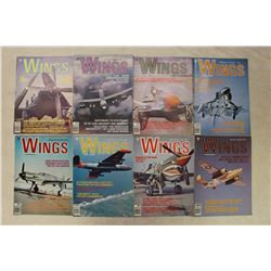 Wings Magazines (6)(1976,1977,1979(4),1980)