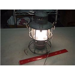 CNR Lantern Converted To Working Electric LAmp