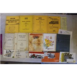 Lot Of Vintage Manuals And Paper Related