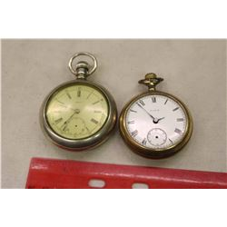 Elgin&Omega Railroad Pocket Watches (Running, Need Second Hands)