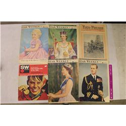 Vintage Newspapers&Magazines(1914,1953,1967) (Star Weekly, Farm&Fireside)