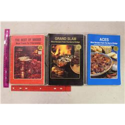 Lot Of 3 Cookbooks