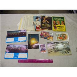 Lot Of Vintage Paper Related