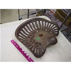 Cast Iron Implement Seat, Therake Toronto
