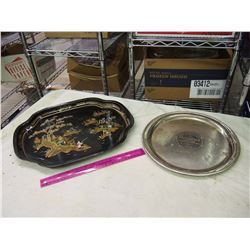 Pair Of Vintage Trays