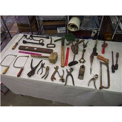 Huge Lot Of Vintage Tools