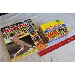 1988 O-Pee-Chee Baseball Yearbook Stickers & Yearbook Sticker Album