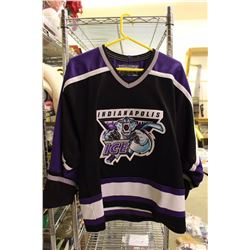 Indianapolis Ice Jersey,(IHL) – Authentic Bauer Men's Medium