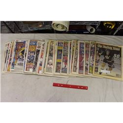 Lot of Hockey News Publications:Lots of Gretzky,Howe,Roy&Orr on the covers