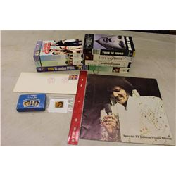 Lot of Elvis Presley Related Items