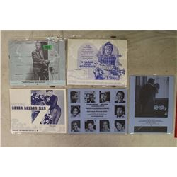 Lot of Rare, Original Movie Synopsis Sheets