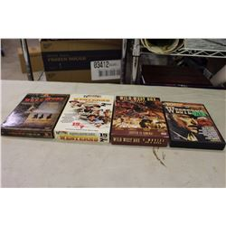 Lot of 4 Western DVD Sets