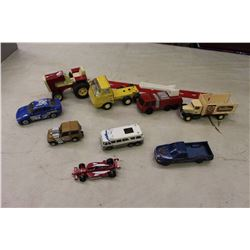 Lot of Metal Cars & trucks