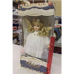 Anita Porcelain Doll, The Rebecca Collection, W/ Certificate
