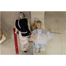 Lot Of Porcelain Dolls (2)