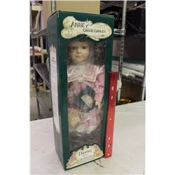 Diana Porcelain Doll, Anne Of Green Gables, Heritage Edition, Ex. Condition