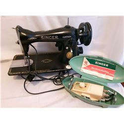 Electric Singer Sewing Machine Head And Button Holer