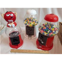 Tabletop Gumball Machines (3)