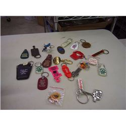 Lot Of Advertising Key Chains (23)