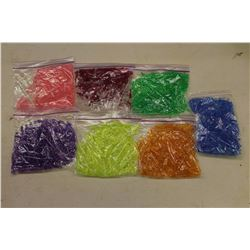 Lot of Lite Brite Pegs (8 Different Colours)