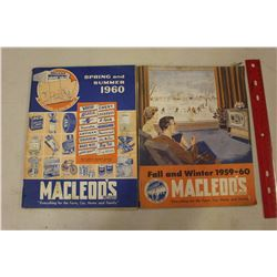 1959&1960 Macleod's Catalogues (Spring/Summer&Fall/Winter)