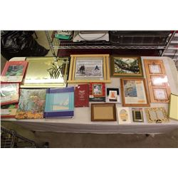 Lot of Assorted Picture Frames
