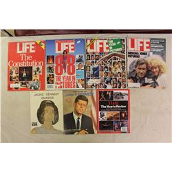 1980s Life Magazines (4)w/The Story of John F.Kennedy&Jackie Kennedy