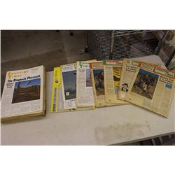 Huge Lot Of Shooting Times Magazines (1960's)