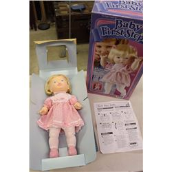 Baby's First Step Doll w/Original Box