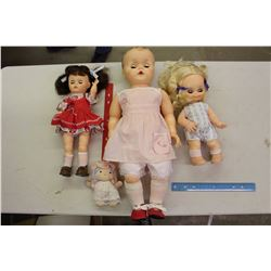 Lot Of Vintage Dolls (3)