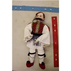 Greece Made Porcelain By Syllektis Doll