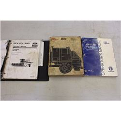 Operator's Manuals(New Holland Combine TR96&TR98& Dodge Fargo Trucks)