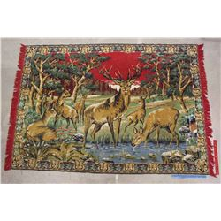 Decorative Horse Designed Rug