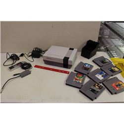 Tested And Working Nintendo Entertainment Centre With Controller, Cords, And Games