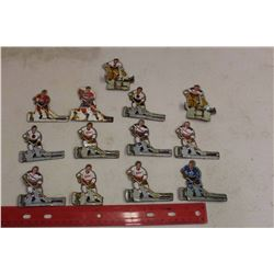 Lot Of Metal Hockey Players For Table Hockey