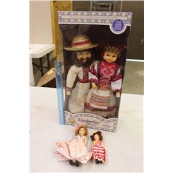 Kimberley Collection Dolls w/Vintage Dolls (2)