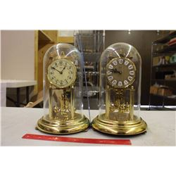 Vintage Anniversary Clocks (2)(Kundo&Ken)(Made in Germany)
