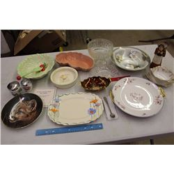 Lot Of Vintage and Antique Dishware