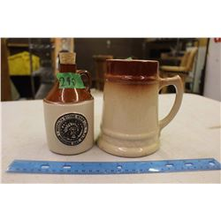 Medalta Souvenir Pitcher And Stein