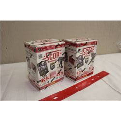 Lot of 2 Sealed Boxes of 2013-14 SCORE Hockey. Each box contains 11 packs of cards