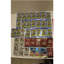 Lot of 36 Sealed Packs of Hockey Cards